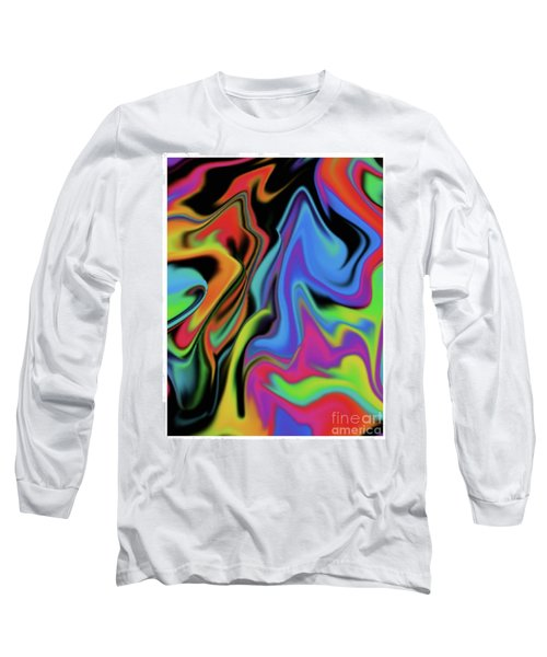 Warped Long Sleeve T-Shirt