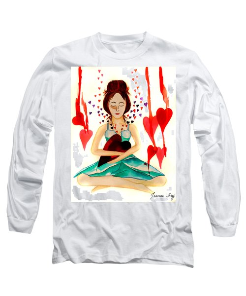 Warrior Woman - Tend To Your Heart Long Sleeve T-Shirt