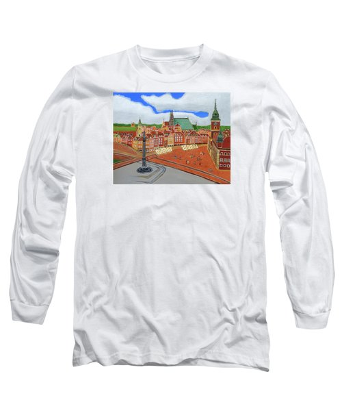 Warsaw- Old Town Long Sleeve T-Shirt