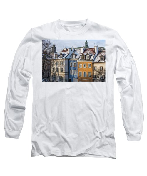 Long Sleeve T-Shirt featuring the photograph Warsaw, Poland by Juli Scalzi