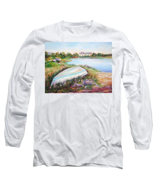 Washed Up Long Sleeve T-Shirt by Patricia Piffath