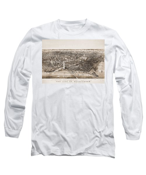 Washington D.c., 1892 Long Sleeve T-Shirt