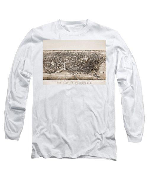 Washington D.c., 1892 Long Sleeve T-Shirt by Granger