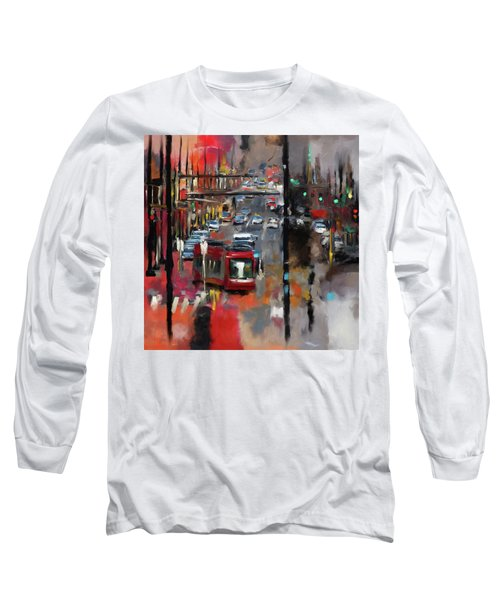 Washington I 471 1 Long Sleeve T-Shirt by Mawra Tahreem