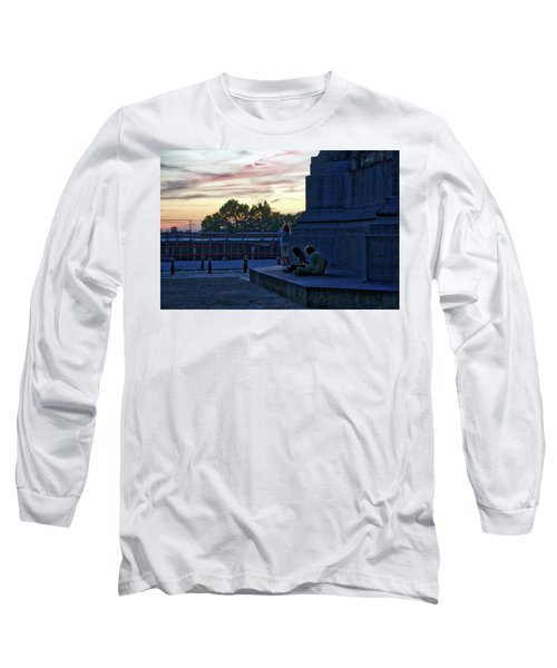 Watching The Sunset Long Sleeve T-Shirt