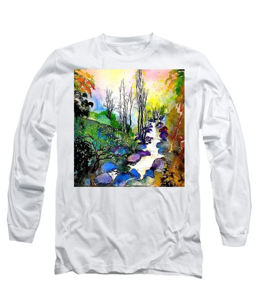 Water And Air Long Sleeve T-Shirt