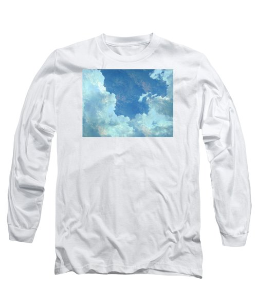 Water Clouds Long Sleeve T-Shirt by Robin Regan
