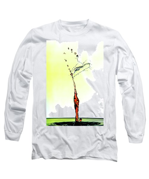 Water Drop #6 Long Sleeve T-Shirt