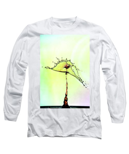 Water Drop #7 Long Sleeve T-Shirt