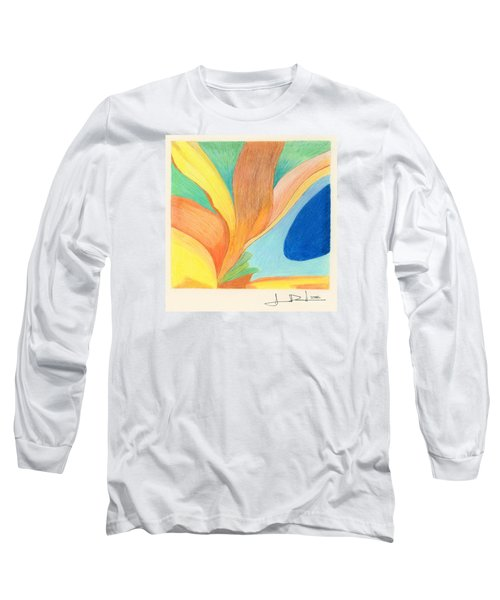 Water Grass Blue Pond Long Sleeve T-Shirt