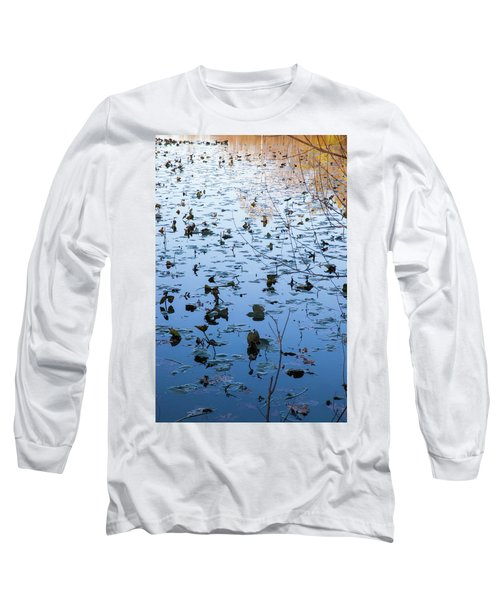 Water Lilies Autumn Song Long Sleeve T-Shirt