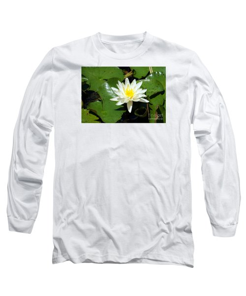 Water Lily 7 Long Sleeve T-Shirt