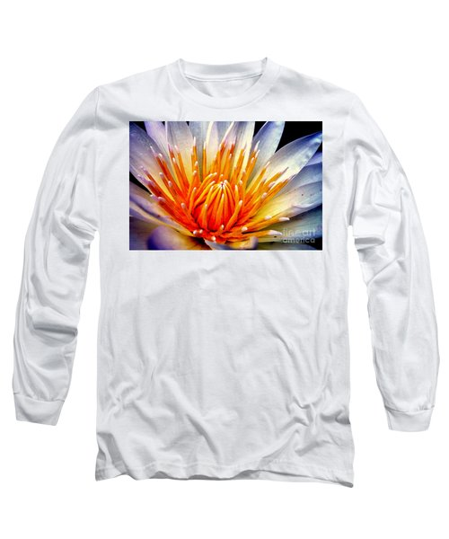 Water Lily Flower Long Sleeve T-Shirt