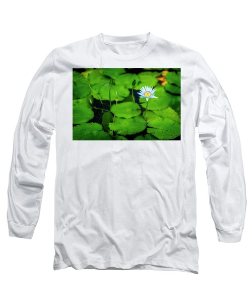 Long Sleeve T-Shirt featuring the photograph Water Logged by Ryan Manuel