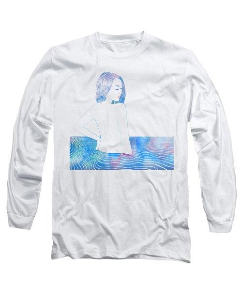 Water Nymph Lxxxiv Long Sleeve T-Shirt