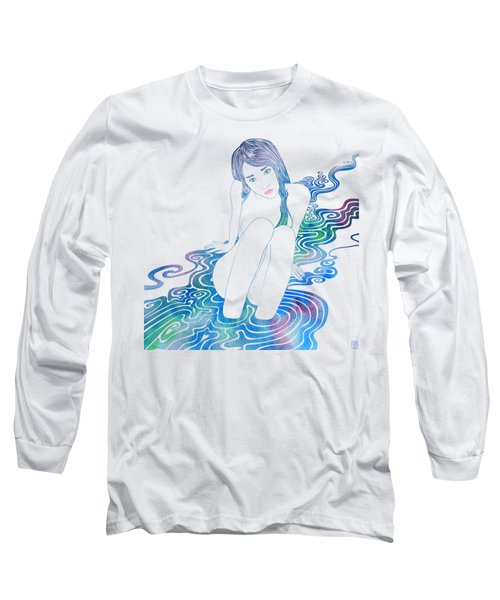 Water Nymph Lxxxvi Long Sleeve T-Shirt