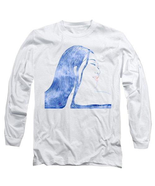 Water Nymph X Long Sleeve T-Shirt by Stevyn Llewellyn