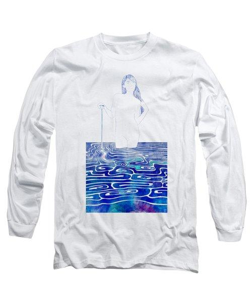 Water Nymph Xc Long Sleeve T-Shirt by Stevyn Llewellyn