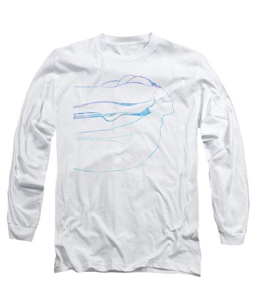 Water Nymph Xcix Long Sleeve T-Shirt by Stevyn Llewellyn