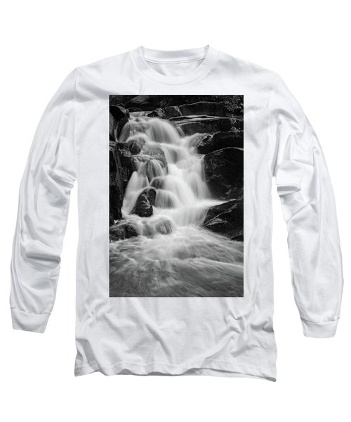 water stair close to the Heinrich Heine hiking way, Harz Long Sleeve T-Shirt by Andreas Levi