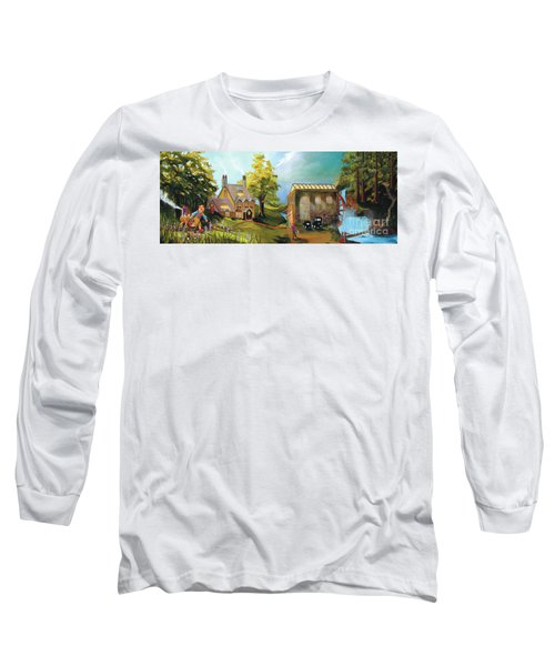 Water Wheel Long Sleeve T-Shirt