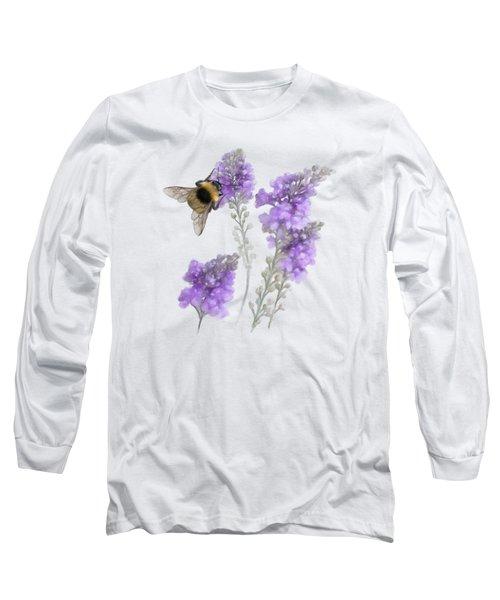 Watercolor Bumble Bee Long Sleeve T-Shirt