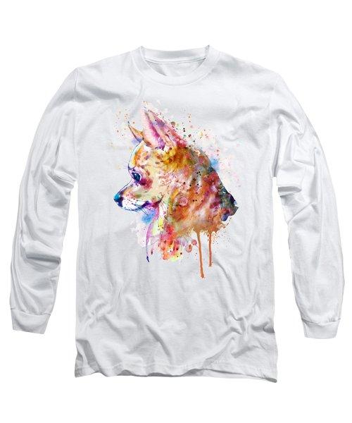 Watercolor Chihuahua  Long Sleeve T-Shirt