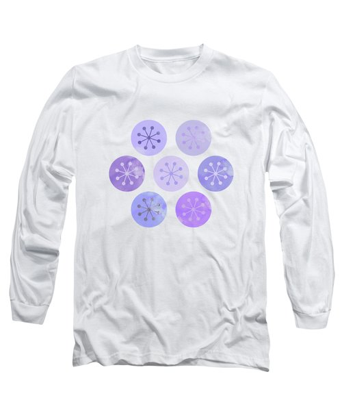 Watercolor Lovely Pattern II Long Sleeve T-Shirt by Amir Faysal