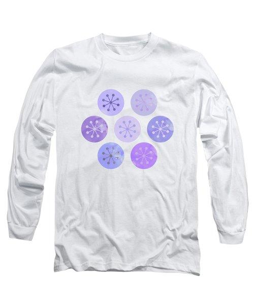 Watercolor Lovely Pattern II Long Sleeve T-Shirt