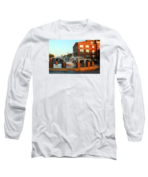 Waterfront Park Charleston Long Sleeve T-Shirt by James Kirkikis