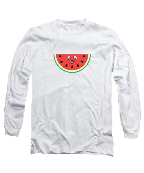 Watermelon Ornament Long Sleeve T-Shirt