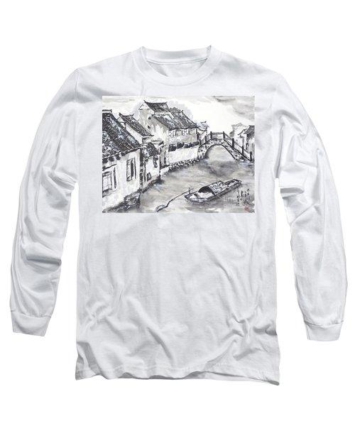 Watertown In China Long Sleeve T-Shirt
