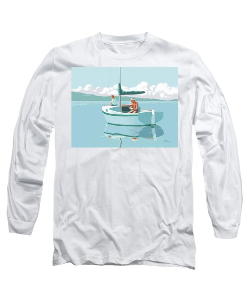 Wating For The Wind Long Sleeve T-Shirt