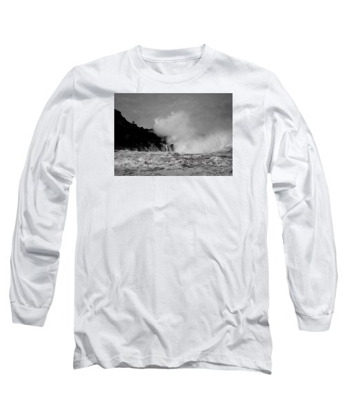 Wave Watching Long Sleeve T-Shirt by Roy McPeak