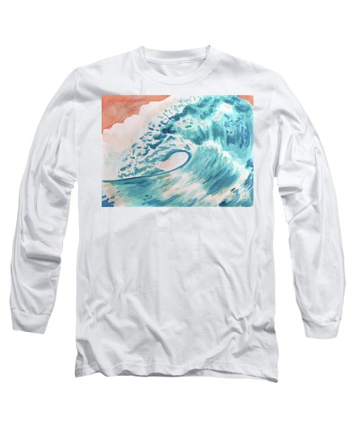 Wave Long Sleeve T-Shirt by Whitney Morton