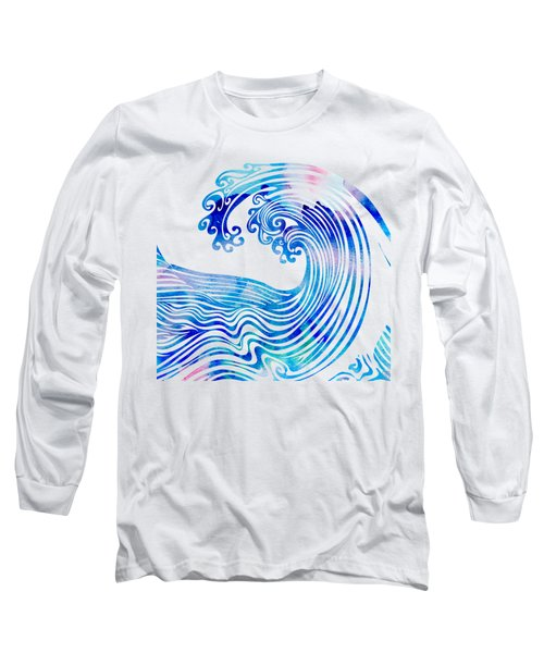 Waveland Long Sleeve T-Shirt by Stevyn Llewellyn