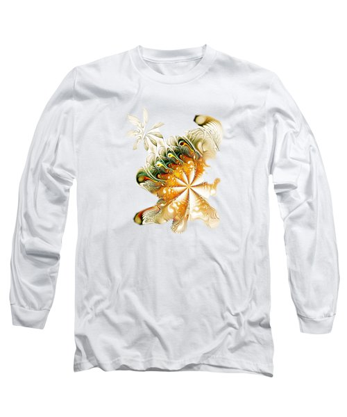 Waves And Pearls Long Sleeve T-Shirt