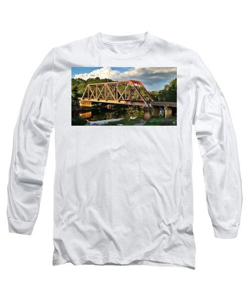 Waycross Trestle Bridge Long Sleeve T-Shirt