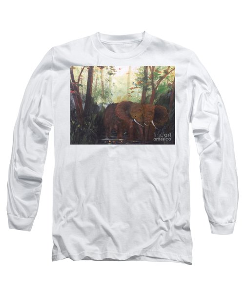We Two Long Sleeve T-Shirt by Trilby Cole