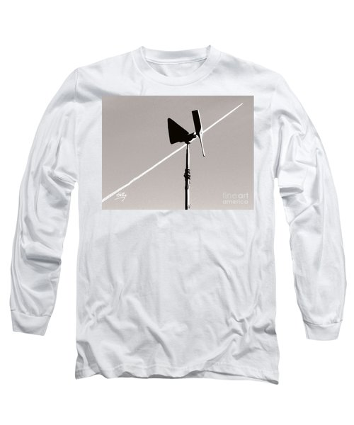 Long Sleeve T-Shirt featuring the photograph Weather Vane by Linda Hollis