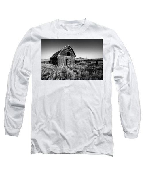 Weathered Barn Long Sleeve T-Shirt