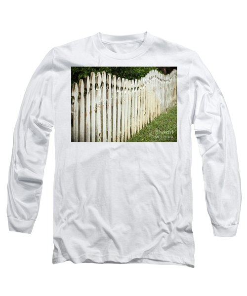 Weathered Fence Long Sleeve T-Shirt