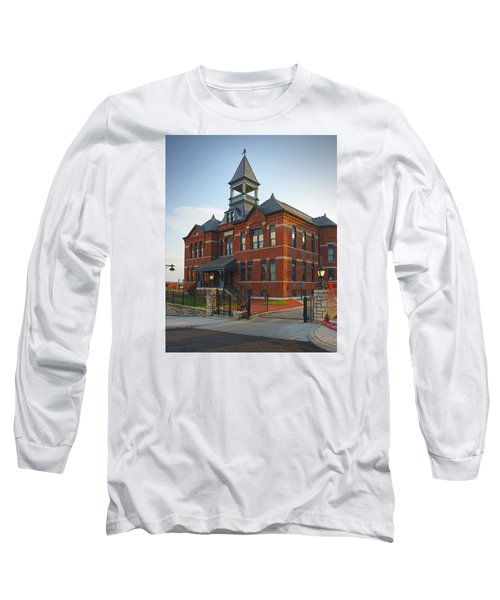 Webster House Long Sleeve T-Shirt by Jim Mathis