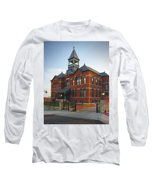 Long Sleeve T-Shirt featuring the photograph Webster House by Jim Mathis
