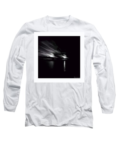 Welcome Beach Night Sky Long Sleeve T-Shirt