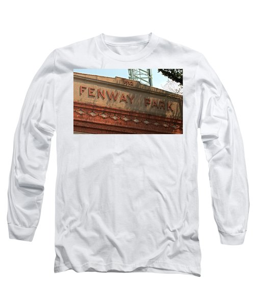 Welcome To Fenway Park Long Sleeve T-Shirt