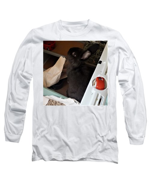 Long Sleeve T-Shirt featuring the photograph Welcome To My Humble Abode by Denise Fulmer