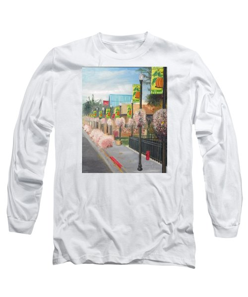 Welcome To Vernal Long Sleeve T-Shirt by Sherril Porter