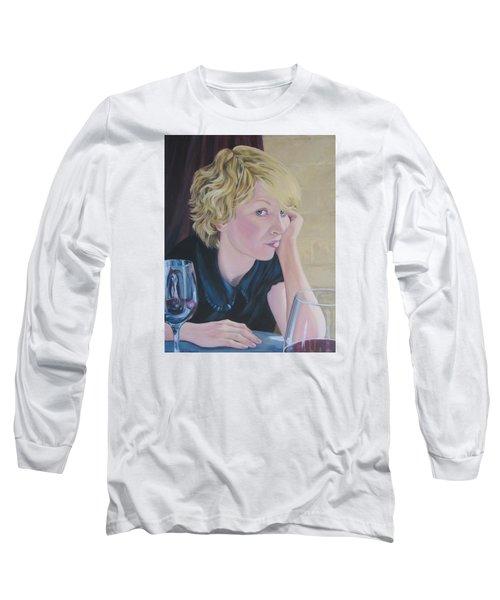 Well Long Sleeve T-Shirt by Connie Schaertl