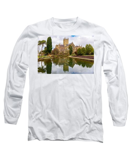 Wells Cathedral Long Sleeve T-Shirt by Colin Rayner